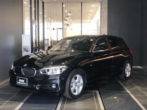 BMW 1シリーズ 118i スポーツ 16AW LEDヘッドライト コンフォートアクセス SOSコール ミラーETC アイドリングストップ クルーズコントロール インテリジェントセーフティ Bカメラ 後方センサー HDDナビ
