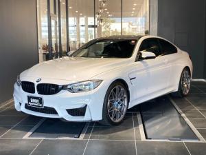 BMW M4 M4クーペ コンペティション Mパフォーマンスステアリング 20インチライトアロイホイール フルセグTV 黒革スポーツシート 電動シート シートヒーター カーボントリム パドルシフト Mドライブロジック