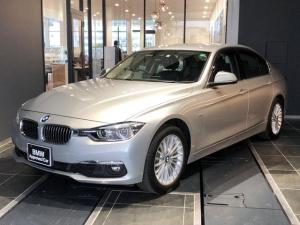 BMW 3シリーズ 318i ラグジュアリー 禁煙1オーナー車 1,785km LEDヘッドライト コンフォートアクセス インテリジェントセーフティー Bluetooth 黒革パワーシートシートヒーター バックカメラ 後方PDCセンサー
