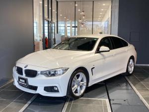 BMW 4シリーズ 420iグランクーペ Mスポーツ フルセグ地デジTV アクティブクルーズコントロール 電動リアトランクゲート ドライブレコーダー インテリジェントセーフティ 自動軽減ブレーキ 車線逸脱警告 弊社下取り1オーナー 禁煙