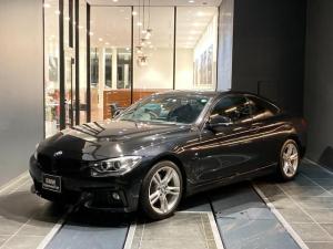 BMW 4シリーズ 420iクーペ Mスポーツ フロントカメラ ACC 前後純正ドライブレコーダー 自動軽減ブレーキ SOSコール 前後PDC バックカメラ 純正iDriveシステム 純正 パドルシフト 禁煙 インテリジェントセーフティー