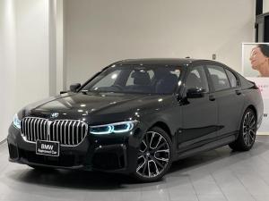 BMW 7シリーズ 740d xDrive Mスポーツ 20インチアルミホイール レーザーライト コンフォートアクセス Aゲート ソフトクローズ エアサス サンルーフ ジェスチャーコントロール 全方位カメラ 全方位センサー 全席シートヒーター