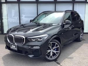 BMW X5 xDrive 35d Mスポーツ ドライビング・ダイナミクス・パッケージ サンルーフ エアサス 21インチアロイホイール ブラウンレザーシート ジェスチャーコントロール ステアリングアシスト 1オーナー