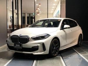 BMW 1シリーズ 118i Mスポーツ 正規認定中古車 弊社デモカー ACC インテリジェントセーフティー オートトランク アンビエントライト ワイヤレス充電 アルカンターラ バックカメラ 前後センサー コンフォートアクセス