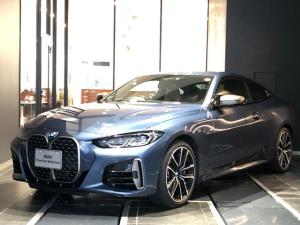 BMW 4シリーズ M440i xDriveクーペ レーザーライトヘッドライト アダプティブMサスペンション ジェスチャーコントロール 全方位カメラ 全方位センサー ヘッドアップディスプレイ harman/kardonスピーカー カードキー 19アルミ