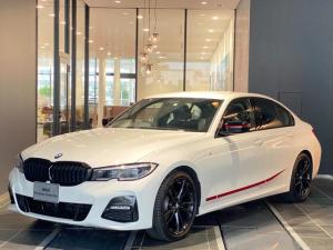 BMW 3シリーズ 320d xDrive Mスポーツ エディションサンライズ 特別仕様車 弊社デモカー レーザーライト Mカラーステッチシートベルト ワイヤレス充電 パーキングアシスト 後退アシスト シートヒーター ACC 黒革パワーシート