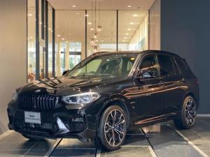 BMW X3 M コンペティション サンルーフ 弊社下取 1オーナー フルセグ 全席シートヒーター シートクーラー ドライビングアシスト 茶革パワーシート カーボントリム 全方位カメラ トップビューカメラ リアシートアジャスト 禁煙車