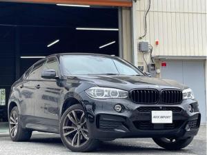 BMW X6 xDrive 35i Mスポーツ 黒革 シートヒーター タッチパネル式HDDナビ 全周カメラ&PDC HUD&LCW Dアシストプラス LEDヘッドライト 純正20インチAW 1オーナー 新車保証