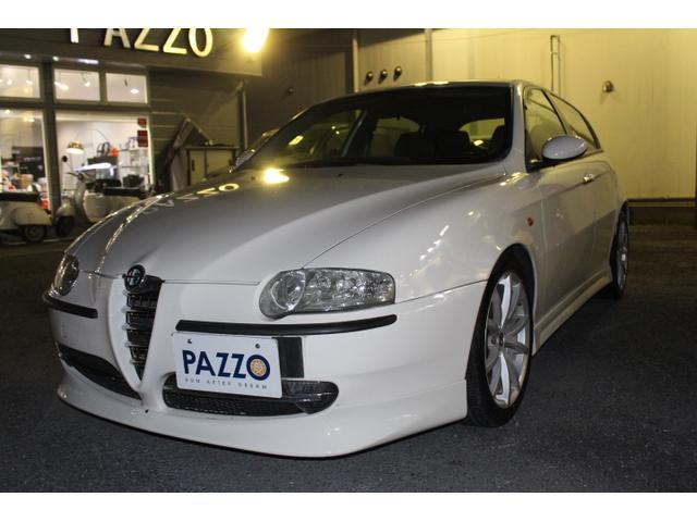 人気で希少な左ハンドルMT車5ドア入庫しかも人気の白 エアロパーツフロントサイドリヤスーパースプリントマフラータイベル交換渡し