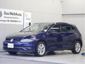 フォルクスワーゲン ゴルフ TSIコンフォートライン 現行モデルナビLED新車保証延長1年
