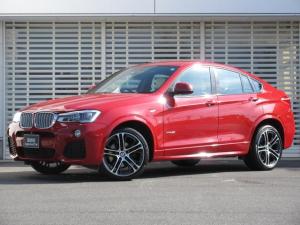 BMW X4 xDrive 35i Mスポーツ ワンオーナー!アイボリーホワイトレザ-!20インチアルミ!LEDヘッドライト+LEDフロントフォグ!ウッドパネル!地デジ付HDDナビ!2.0ETCミラー!パドルシフト!