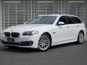 BMW 5シリーズ 523dツーリングラグジュアリー 黒革 ACC Dアシスト