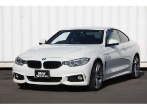 BMW 4シリーズ 435iクーペ Mスポーツ 赤革 19インチアルミ ヘッドアップディスプレイ パドルシフト HDDナビ Rカメラ ETC Bluetooth ドライビングアシスト 禁煙車