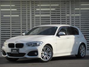 BMW 1シリーズ 118i Mスポーツ LEDヘッドライト 17インチアルミ HDDナビゲーション リアビューカメラ Bluetooth ミュージックコレクション クルーズコントロール ETC ドライビングアシスト 禁煙車