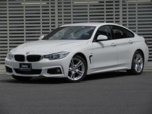 BMW 4シリーズ 420iグランクーペ Mスポーツ Mスポーツ アクティブクルーズコントロール ドライブアシスト リアビューカメラ LEDヘッドライト 電動リアゲート HDDナビゲーション ミュージックコレクション Bluetooth 禁煙車