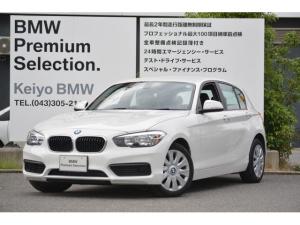 BMW 1シリーズ 118i 正規認定中古車 1オナ 純HDDナビ CD SOS
