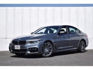 BMW 5シリーズ 530e Mスポーツアイパフォーマンス 正規認定中古車 イノベーションP ナビ CD 地デジ 19AW トップビューカメラ 前後障害物センサー パドルシフト ETC LEDライト ヘッドアップD 黒レザー ヒーター ドライビングA ACC レーンチェンジ