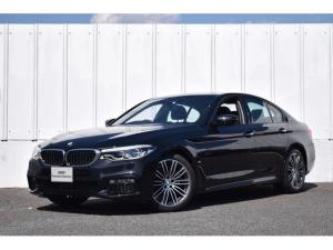 BMW 5シリーズ 530e Mスポーツアイパフォーマンス 正規認定中古車 イノベーションP ナビ  地デジ 19AW アダブティブLED トップビューカメラ 前後障害物センサー 黒革シート ETC ドライビングA アクティブクルーズC レーンチェンジW SOSコール