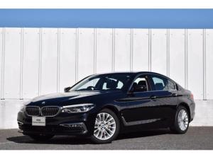 BMW 5シリーズ 530eラグジュアリー アイパフォーマンス 正規認定中古車 元試乗車 ディスプレイキー ジェスチャー ヘッドアップディスプレイ ソフトクローズドア マッサージ付黒革シート アラームシステム ナビ 地デジ ACC Dアシスト リアカメラ 前後PDC ETC