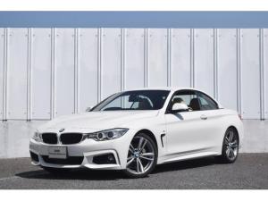 BMW 4シリーズ 435iカブリオレ Mスポーツ 正規認定中古車 ベージュレザー アクティブクルーズコントロール ヘッドアップディスプレイ 純ナビ 地デジチューナー リアビューカメラ 前後障害物センサー ドライブアシスト SOSコール キセノンヘッドライト ETC