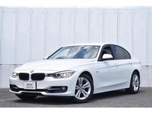 BMW 3シリーズ 320i スポーツ 認定中古車 ワンオーナー 純正ナビ ミラーETC 電動シート バックカメラ リヤ障害物センサー キセノンヘッドライト 社外地デジ USB・Blutooth接続 マルチファンクション 純正17インチAW