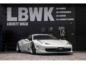 フェラーリ 458イタリア ベースグレード LB-WORKS 458 Full Complete