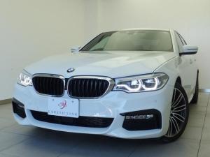 BMW 5シリーズ 523d Mスポーツ 弊社下取 純正19AW パドルシフト 電動テールゲート ドラレコ LEDヘッドライト ACC ウッドパネル 360度カメラ アンビエントライト Mスポーツステアリング 内外装除菌済