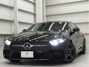 メルセデス・ベンツ CLSクラス CLS450 4マチック スポーツ 新車保証継承 サンルーフ 黒本革 ベンチレーション シートヒーター 純正ブラック20AW 電動テールゲート アンビエントライト 360度カメラ アダクティブLEDヘッドライト