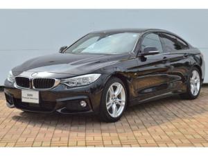 BMW 4シリーズ 420iグランクーペ Mスポーツ 正規認定中古車・アクティブクルーズコントロール・LEDヘッドライト・シートヒーター・純正HDDナビゲーション・アイドリングストップ・パワーシート・アルミインパネ・アイドリングストップ