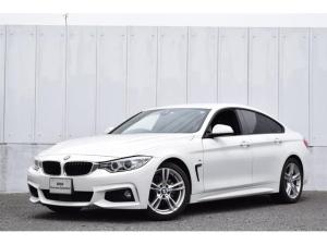 BMW 4シリーズ 420iグランクーペ Mスポーツ 正規認定中古車 ワンオーナー ナビ Bluetooth(音楽・tel) CD 18AW ドライビングA アクティブクルーズ レーンチェンジW リヤPDC リヤカメラ 電動リヤゲート ETC  SOS LEDライト