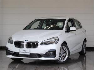 BMW 2シリーズ 218d xDriveアクティブツアラーラグジュアリ ブラックレザー シートヒーター 4WD コンフォートパッケージ 電動テールゲート リヤビューカメラ 電動シート 障害物センサー コンフォートアクセス 衝突被害軽減ブレーキ フロントアームレスト