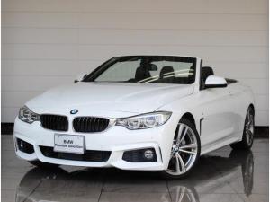 BMW 4シリーズ 435iカブリオレ Mスポーツ 左ハンドル ブラックレザー LEDヘッドライト アクティブクルーズコントロール 地上デジタルTV シートヒーター Bluetoothオーディオ HDDナビゲーション リヤビューカメラ 被害軽減ブレーキ