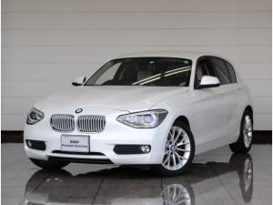 BMW 1シリーズ 116i ファッショニスタ オイスターレザー シートヒーター 電動シート ドライバーアシスト HDDナビ リヤビューカメラ 衝突被害軽減ブレーキ PDC SOSコール コンフォートアクセス Bluetoothオーディオ