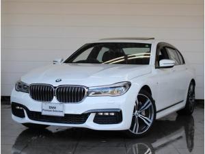 BMW 7シリーズ 740i Mスポーツパッケージ Mスポーツ 20インチAW レーザーライト リアエンタテイメントシステム モカブラウンレザー リアコンフォートシート Harman/Kardonサラウンド シートヒーター&クーラー ACC