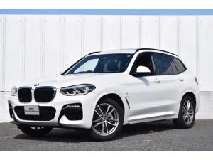 BMW X3 xDrive 20d Mスポーツ 純正ナビ ミラーETC 被害軽減B サンルーフ HarmanKardonスピーカー アンビエントライト シートヒーター&クーラー ワイヤレスチャージ 全方位カメラ前後障害物センサー ヘッドアップD