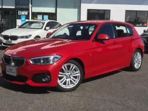 BMW 1シリーズ 118i Mスポーツ HDDナビ バックカメラ 衝突被害軽減ブレーキ コンフォートパッケージ パーキングサポートパッケージ