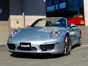 ポルシェ 911 911カレラ4S カブリオレ 正規ディーラー車