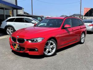 BMW 3シリーズ 320iツーリング Mスポーツパッケージ Mスポーツエアロ 専用18AW 純正ナビ・Bカメラ ETC 電動パワーゲート