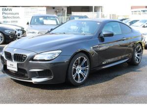BMW M6 白レザー HUD 電動シート 認定中古車