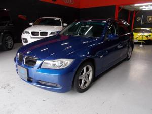 BMW 3シリーズ 320iWG ハイライン キセノン 黒革 社外ナビ DL整備