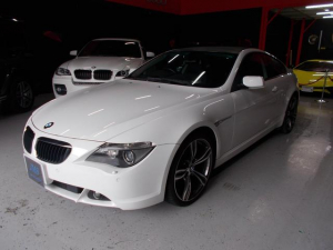 BMW 6シリーズ 630i 06モデル スマートキー 純正HDDナビ 20AW