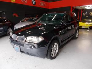 BMW X3 2.5i 記録簿 17インチ 社外ナビ