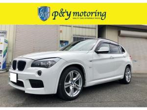 BMW X1 sDrive 18i Mスポーツパッケージ Mスポーツパッケージ コンフォートアクセス iDriveHDDナビ ミラー一体型ETC ローダウン