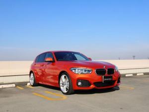 BMW 1シリーズ 118i Mスポーツ シートヒーター クリームレザー インテリジェントセーフティ コンフォートアクセス バックカメラ PDC アイドリングストップ クルーズコントロール ETC 黒グリル