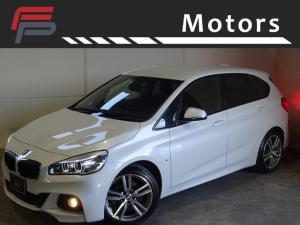 BMW 2シリーズ 218iアクティブツアラー Mスポーツ ワンオーナー 禁煙