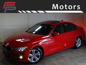BMW 3シリーズ 320i スポーツ 禁煙サンルーフ黒革ナビディーラー整備