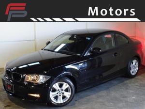 BMW 1シリーズ 120i 禁煙 プッシュスタート AUX RFTタイヤ ドライブレコーダ- ディーラー整備