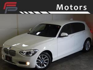 BMW 1シリーズ 116i スタイル ワンオーナー禁煙 HDDナビ 純正16AW HID I-STOP RFTタイヤ ディーラー整備