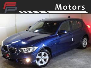 BMW 1シリーズ 118i スポーツ 禁煙 HDDナビ インテリジェントセーフティ LEDライトPKG Bluetooth クルコン レーンアシスト I-STOP ドライビングパフォーマンスコントロール ディーラー整備