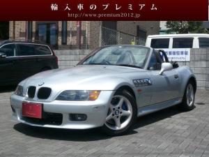 BMW Z3ロードスター レザー シートヒーター 社外デッキ 純正アルミ